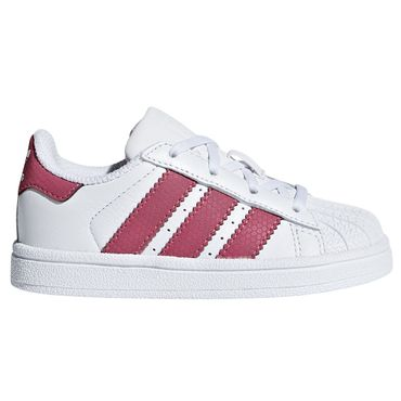 adidas Originals Superstar I Kinder Sneaker weiß pink