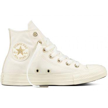 Converse All Star Hi Chuck Taylor Chucks pastellbeige – Bild 1