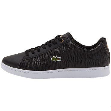 Lacoste Carnaby Evo Sneaker schwarz – Bild 2