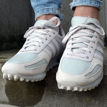 adidas Originals LA Trainer Herren Sneaker grau CQ2274 – Bild 8