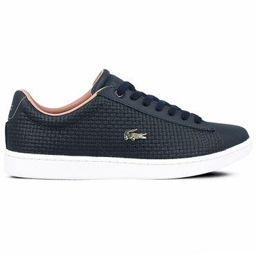 Lacoste Carnaby Evo Damen Sneaker navy pink 7-35SPW001205C – Bild 1