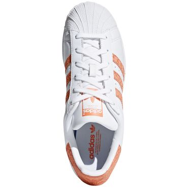 adidas Originals Superstar W Sneaker weiß orange CG5462 – Bild 5