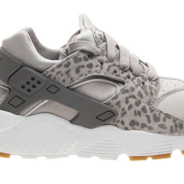 Nike Huarache Run SE (GS) grau animal print 904538 007 – Bild 3