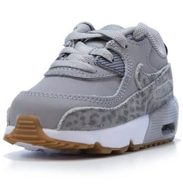 Nike Air Max 90 SE Leather (TD) grau 859632 004 – Bild 2