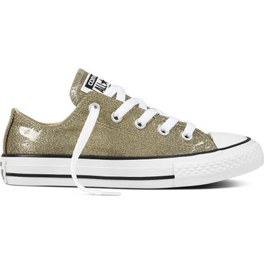 Converse All Star OX Chuck Taylor Chucks Kinder gold glitzer 660046C