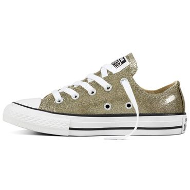 Converse All Star OX Chuck Taylor Chucks Kinder gold glitzer 660046C – Bild 2
