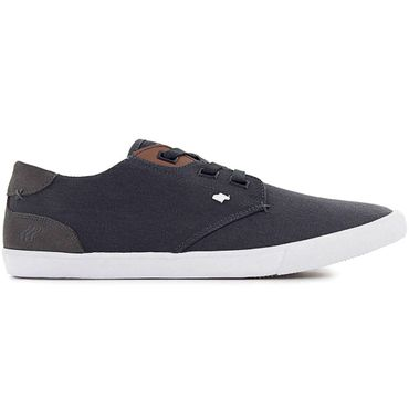 Boxfresh Stern Waxed Canvas Herrenschuhe navy white E-14586 – Bild 1