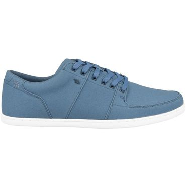 Boxfresh Spencer SH Waxed Canvas Herrenschuhe blau E-15270 – Bild 1