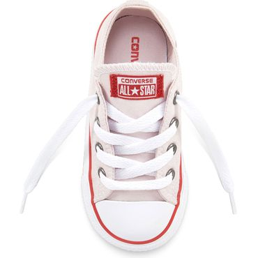 Converse Youth All Star OX Chuck Taylor Chucks Kinder barely rose 660102C – Bild 3