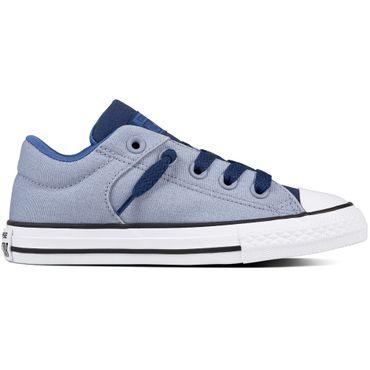 Converse Chuck Taylor All Star Street Slip Kinder Sneaker blau 759984C – Bild 1