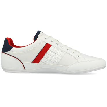 Lacoste Chaymon 218 1 CAM Sneaker white navy red 7-35CAM0013042