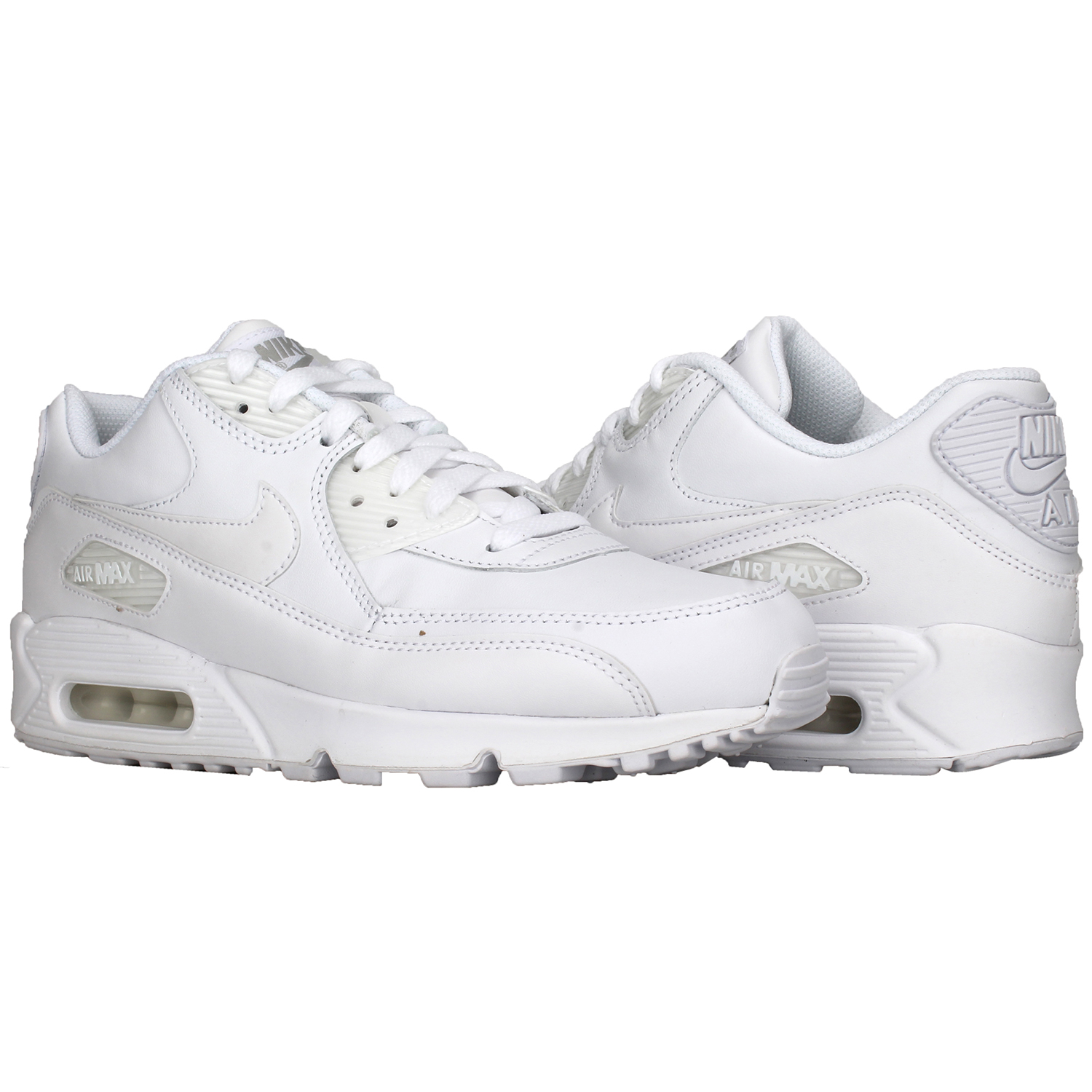 competitive price bd906 132f5 Nike Air Max 90 Leather weiss 302519 113