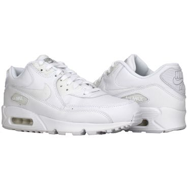 Nike Air Max 90 Leather weiss 302519 113 – Bild 2