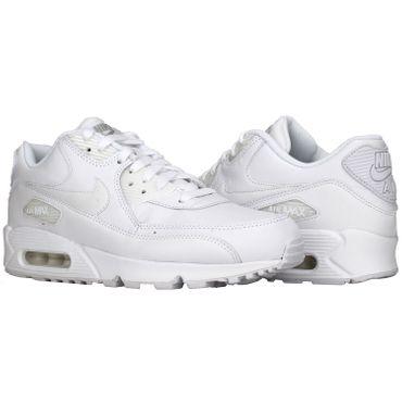 Nike Air Max 90 Leather weiss 302519 113 – Bild 2