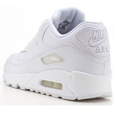 Nike Air Max 90 Leather weiss 302519 113 – Bild 3