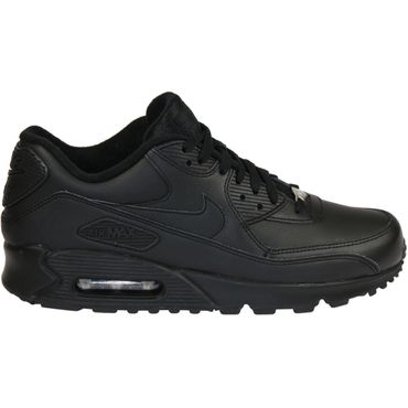 Nike Air Max 90 Leather schwarz 302519 001 – Bild 1
