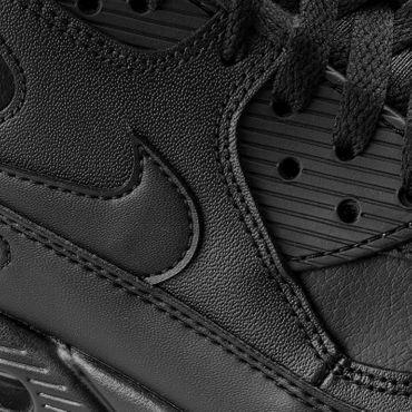 Nike Air Max 90 Leather schwarz 302519 001 – Bild 3