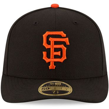 San Francisco Giants Authentic Collection Low Profile 59FIFTY Kappe schwarz orange 70360657 – Bild 2