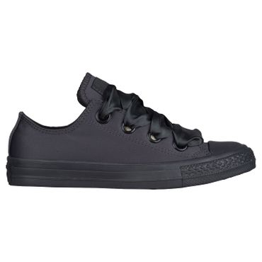 Converse All Star Big Eyelets OX Chuck Taylor Chucks almost black 560658C – Bild 1