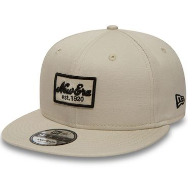 New Era Snapback 9FIFTY New Era Script Patch creme 80581022