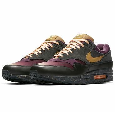 Nike Air Max 1 Premium anthracite elemental gold 875844 002 – Bild 3