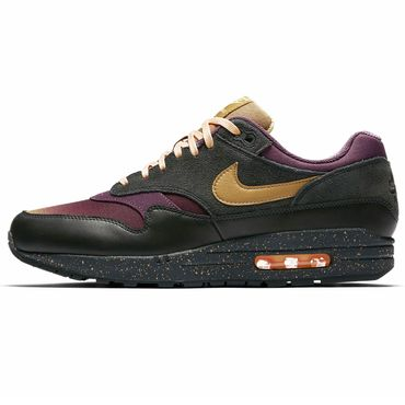 Nike Air Max 1 Premium anthracite elemental gold 875844 002 – Bild 2