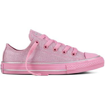 Converse All Star OX Chuck Taylor Kinder rosa Glitter 659961C – Bild 1