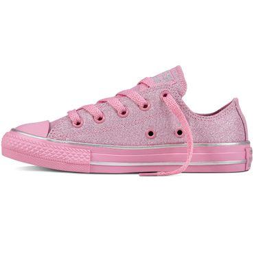 Converse All Star OX Chuck Taylor Kinder rosa Glitter 659961C – Bild 2