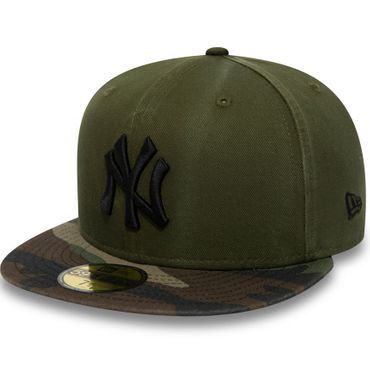 New Era MLB New York Yankees Camouflage Washed 59FIFTY Kappe grün 80580943 – Bild 1