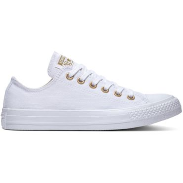 Converse All Star OX Chuck Taylor Chucks weiß gold 560643C – Bild 1