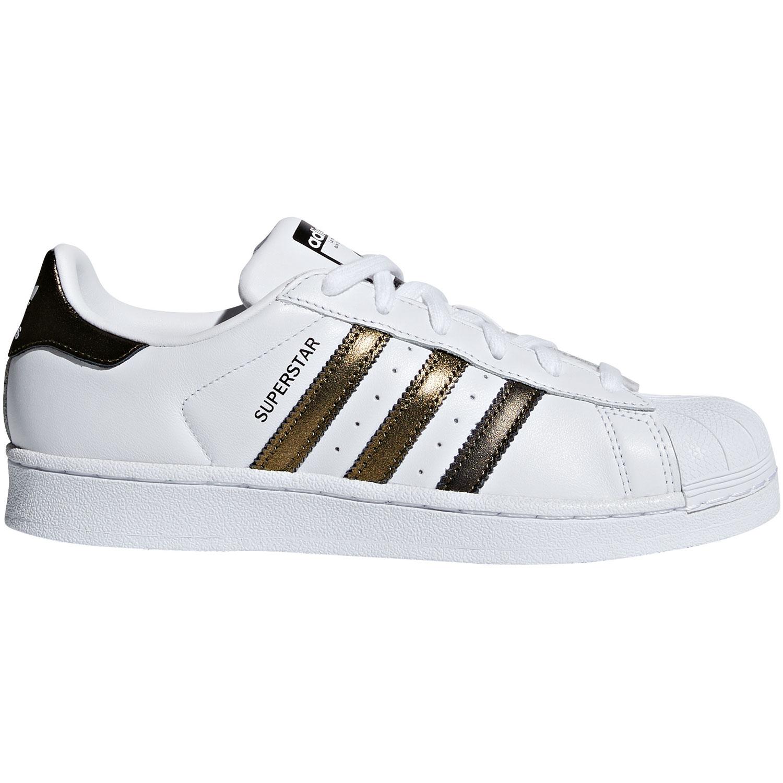 f90f7213c61c66 adidas Originals Superstar W weiß metallic B41513
