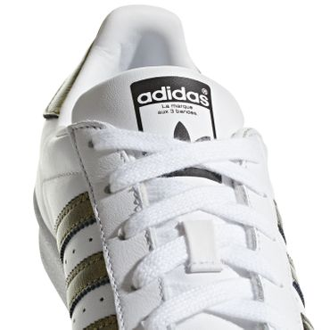 adidas Originals Superstar W weiß metallic B41513 – Bild 3