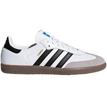 adidas Originals Samba OG weiß schwarz B75806 – Bild 1