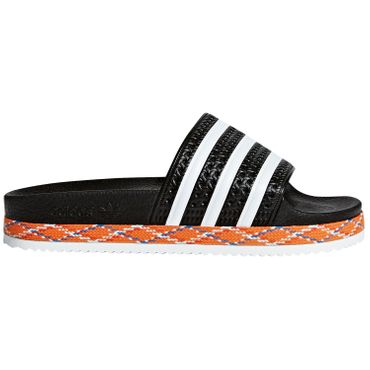 adidas Originals Adilette New Bold W Damen Slipper schwarz AQ1124 – Bild 1