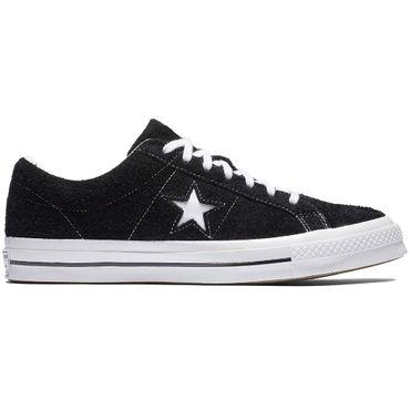 Converse One Star Sneaker schwarz weiß 158369C