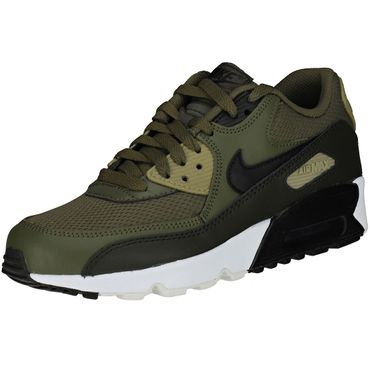 Nike Air Max 90 Mesh (GS) medium olive 833418 201 – Bild 2