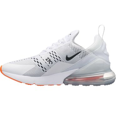 "Nike Air Max 270 Sneaker ""Just do it"" weiß orange AH8050 106 – Bild 2"