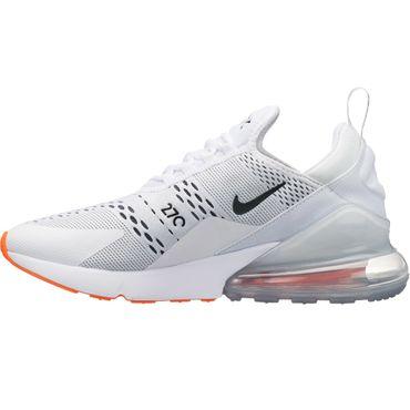 "Nike Air Max 270 Sneaker ""Just do it"" weiß orange AH8050 106 – Bild 2"