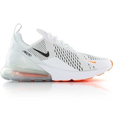 "Nike Air Max 270 Sneaker ""Just do it"" weiß orange AH8050 106 – Bild 1"