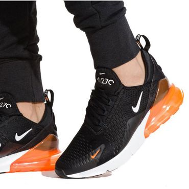 "Nike Air Max 270 Sneaker ""Just do it"" schwarz orange AH8050 014 – Bild 6"