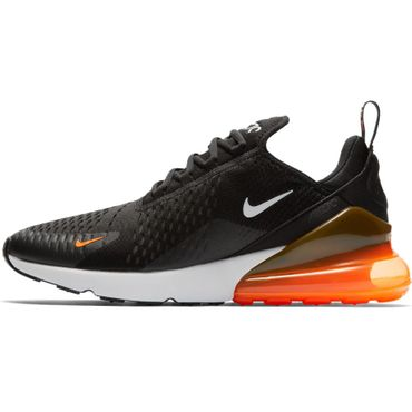 "Nike Air Max 270 Sneaker ""Just do it"" schwarz orange AH8050 014 – Bild 2"