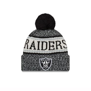 New Era NFL Oakland Raiders On Field Beanie 11768173 – Bild 1