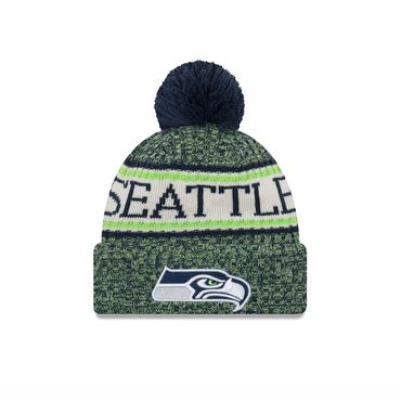 New Era NFL Seattle Seahawks On Field Beanie 11768168 – Bild 1