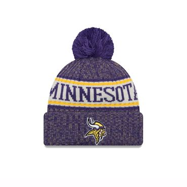 New Era NFL Minnesota Vikings On Field Beanie 11768179 – Bild 1