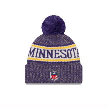 New Era NFL Minnesota Vikings On Field Beanie 11768179 – Bild 2