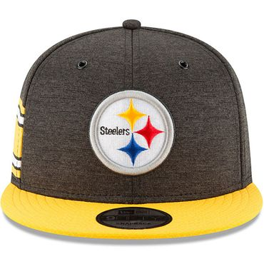 New Era Snapback 9FIFTY NFL 2018 Pittsburgh Steelers Football Sideline 11762517 – Bild 3