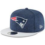 New Era Snapback 9FIFTY NFL 2018 New England Patriots Football Sideline 11762533