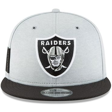 New Era Snapback 9FIFTY NFL 2018 Oakland Raiders Football Sideline 11762523 – Bild 3