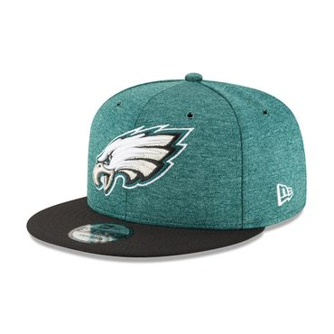 New Era Snapback 9FIFTY NFL 2018 Philadelphia Eagles Football Sideline 11762519 – Bild 1