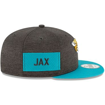 New Era Snapback 9FIFTY NFL 2018 Jacksonville Jaguars Football Sideline 11762519 – Bild 4
